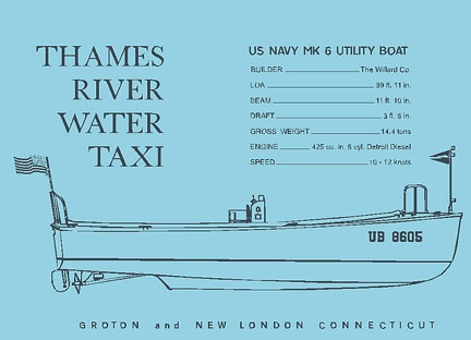 water taxi line drawing