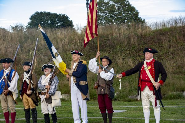 Boat Tour: Patriots & Red Coats.  240th Anniversary of the Battle of Groton Heights.