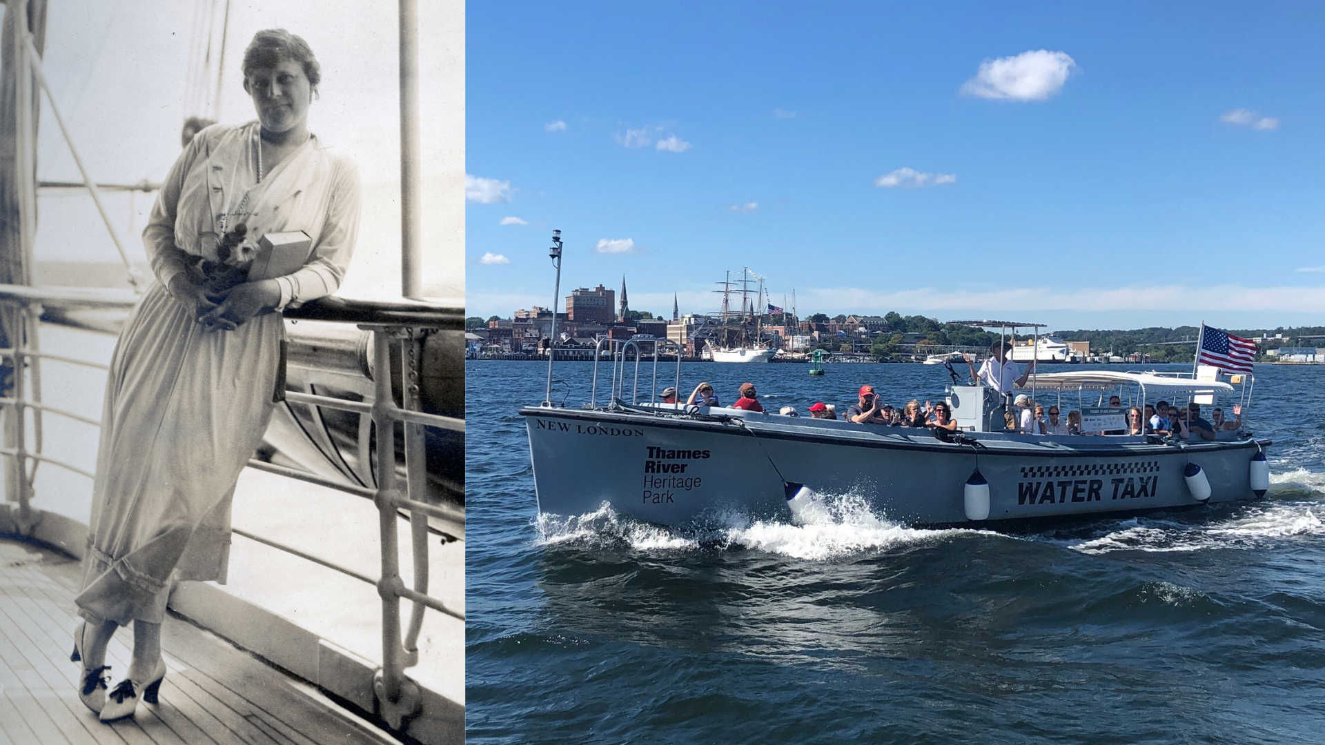 Suffragettes, Puppeteers, & Patriots: Women of the Thames Boat Tour