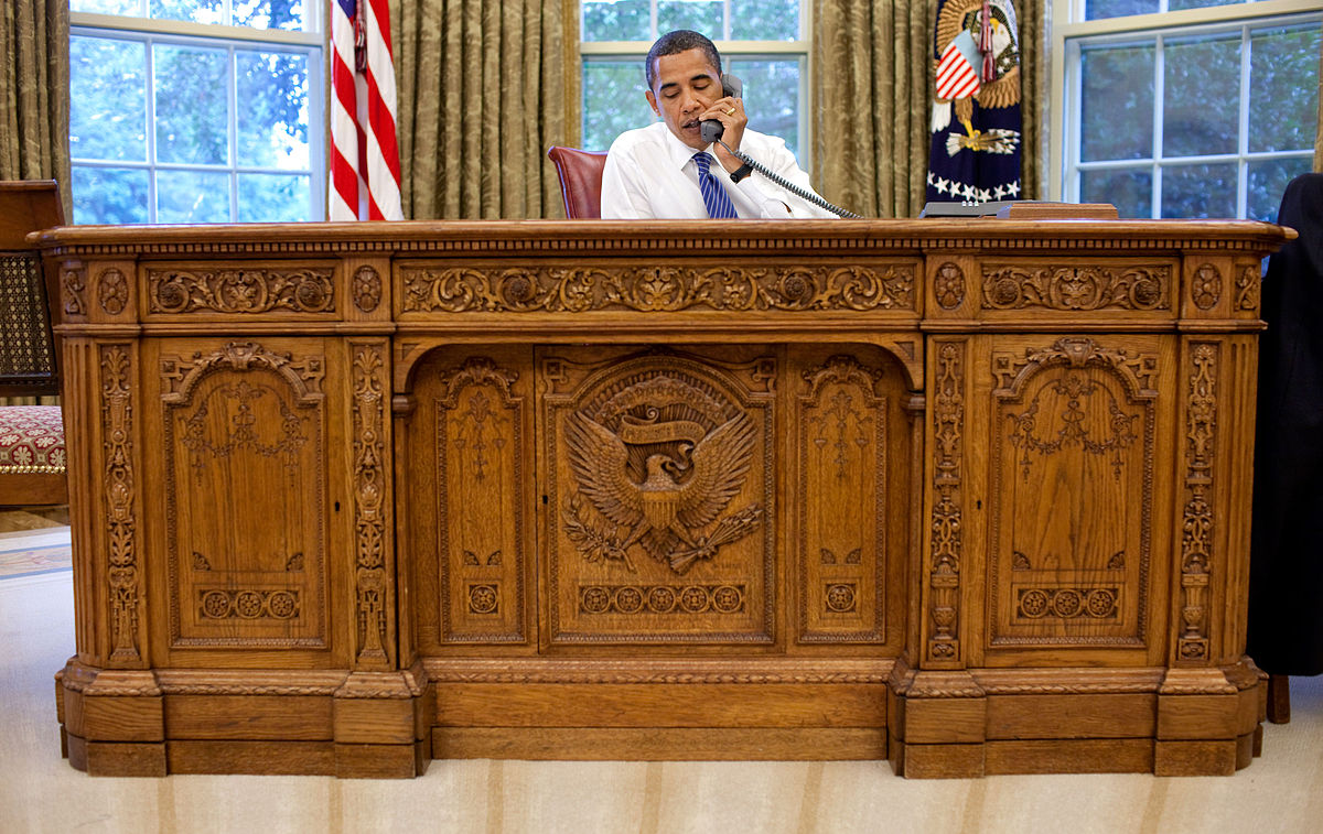 The President's Desk: the Story of the Resolute